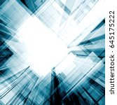 architecture concept. design... | Shutterstock . vector #645175222