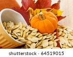 Colorful Autumn Still Life Wit...