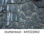 black stones background   Shutterstock . vector #645222862