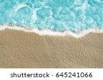 sea water texture background.... | Shutterstock . vector #645241066