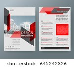 business templates creative... | Shutterstock .eps vector #645242326
