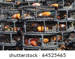 Crab Pots Stacked