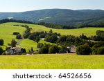 picture of european countryside ... | Shutterstock . vector #64526656