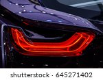 rear light of a car. | Shutterstock . vector #645271402