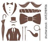 vintage style design hipster... | Shutterstock .eps vector #645298906