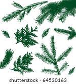 set vector branch | Shutterstock .eps vector #64530163