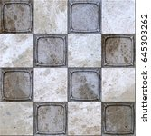 marble tiles seamless texture  | Shutterstock . vector #645303262