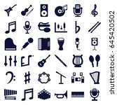 Musical Icons Set. Set Of 36...