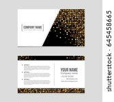 abstract vector layout...   Shutterstock .eps vector #645458665