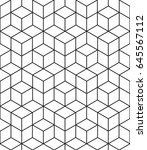 abstract geometric  hexagonal... | Shutterstock . vector #645567112