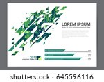 stylish modern design graphic... | Shutterstock .eps vector #645596116