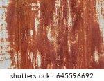 rusty texture | Shutterstock . vector #645596692