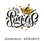 vector illustration of little... | Shutterstock .eps vector #645618472