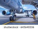 jet engines | Shutterstock . vector #645640336