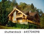 Luxurious Wooden Log Cabin