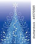 christmas tree | Shutterstock .eps vector #64570585