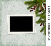 card for the holiday with... | Shutterstock . vector #64572055