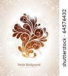 elegant swirly vector...   Shutterstock .eps vector #64576432