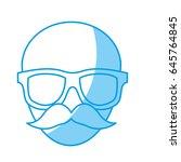 glasses accessory icon | Shutterstock .eps vector #645764845