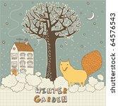 merry christmas  seamless... | Shutterstock .eps vector #64576543