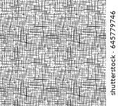 seamless fabric texture. canvas ... | Shutterstock .eps vector #645779746