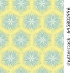 seamless guilloche vector... | Shutterstock .eps vector #645802996