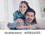 love  friendship  trust ... | Shutterstock . vector #645816355