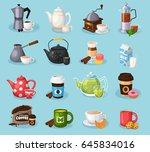 vector concept illustration of... | Shutterstock .eps vector #645834016