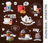 vector concept illustration of... | Shutterstock .eps vector #645834796