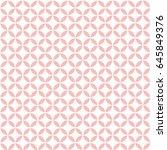 vector beige pattern. geometric ... | Shutterstock .eps vector #645849376