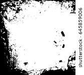 illustration with grunge metal... | Shutterstock .eps vector #645859006