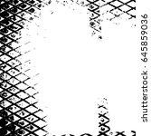 illustration with grunge metal... | Shutterstock .eps vector #645859036