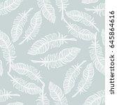 abstract vector seamless... | Shutterstock .eps vector #645864616