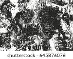 distressed overlay texture of... | Shutterstock .eps vector #645876076