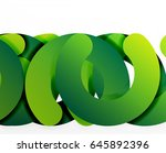 circle geometric abstract... | Shutterstock .eps vector #645892396