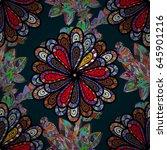 background texture  wallpaper ... | Shutterstock .eps vector #645901216
