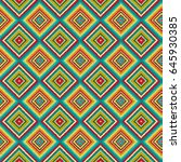 bright seamless pattern with... | Shutterstock .eps vector #645930385