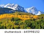 Colorado Mountains In The Fall
