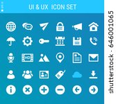 ui and internet icons collection