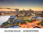 Baltimore  Maryland  Usa Inner...