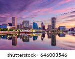 baltimore  maryland  usa... | Shutterstock . vector #646003546