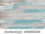 brown  turquoise  and teal wood ... | Shutterstock . vector #646006336