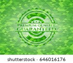 premium quality guaranteed... | Shutterstock .eps vector #646016176