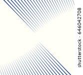 diagonal striped illustration.... | Shutterstock .eps vector #646042708