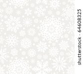 snowflakes seamless pattern  ... | Shutterstock .eps vector #64608325