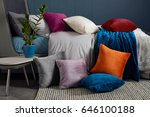 Decorative Pillows Isolated