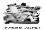 brush stroke and texture. smear ... | Shutterstock . vector #646159876