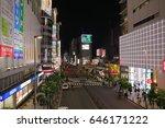 tokyo japan may 18  2017 ... | Shutterstock . vector #646171222