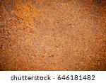 metal in rust   Shutterstock . vector #646181482