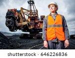 coal mining worker | Shutterstock . vector #646226836